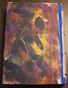 2012 Altered Art Journal Back Cover